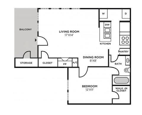 Floorplan Nantucket Classic layout