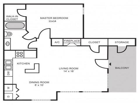 Floorplan Manchester layout