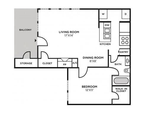 Floorplan Nantucket Renovated layout