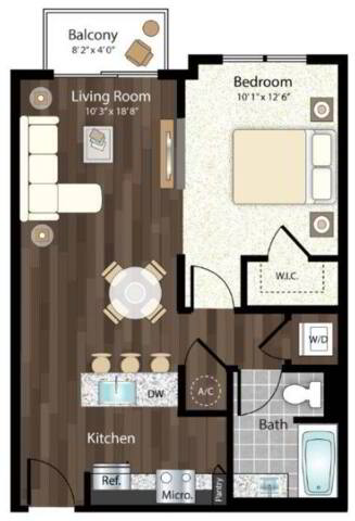 Floorplan San Luca layout