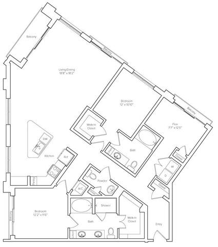 Floorplan Morningside layout