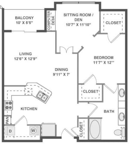 Floorplan Intermezzo layout