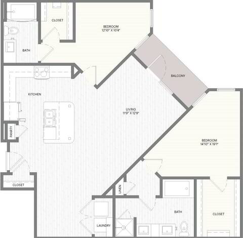 Floorplan B6 layout