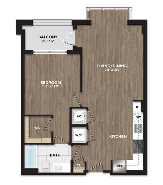 A 2D drawing of the A11 floor plan