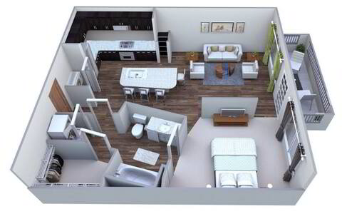 Floorplan Walton layout
