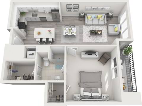 Floorplan A1 layout