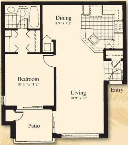 Floorplan The Antilla layout