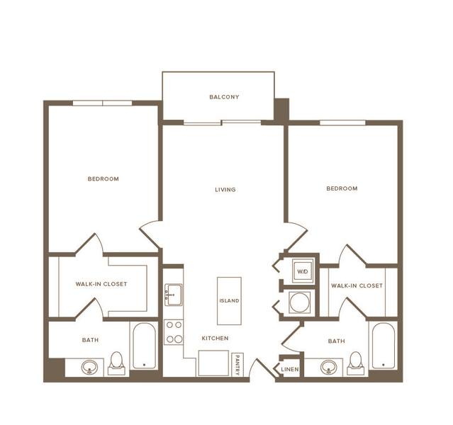 A 2D drawing of the B09 floor plan