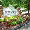 Sterling Oaks Apartment Homes community sign.