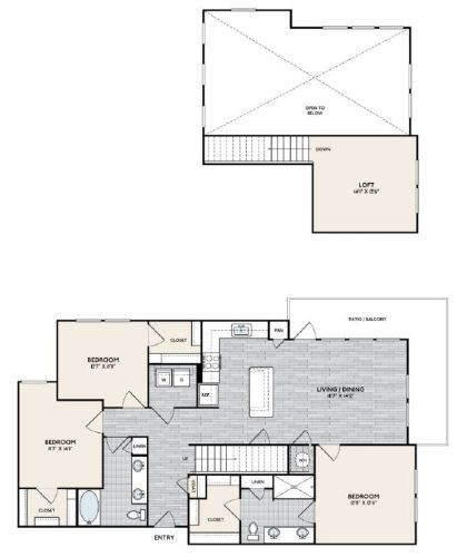 C1 MEZ Floorplan