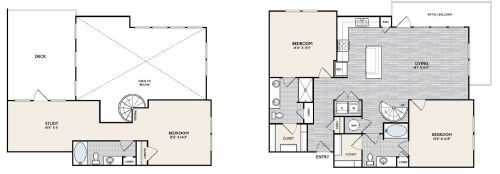 C2 TERR Floorplan