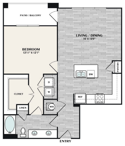 A3 ALT1 Floorplan