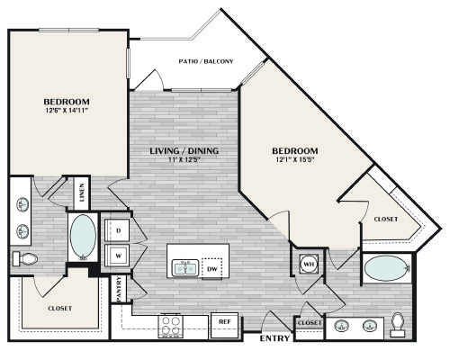 B3 ALT1 Floorplan